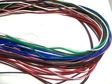 "Lacing Colored Cowhide Leather 40"" Leathercraft Braiding Bracelets Necklaces"