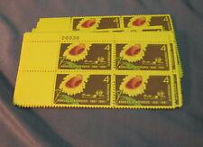 Kansas Statehood 4 cent stamp 30 blocks of 4 Stamps