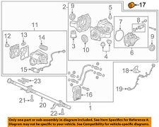 Buick GM OEM 14-17 Regal Axle Differential-Rear-Mount Bushing 13243707