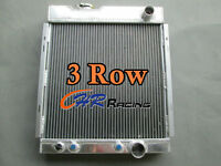 3 Core Aluminum Radiator for FORD MUSTANG V8 289 AT MT 1964 1965 1966 64 65 66