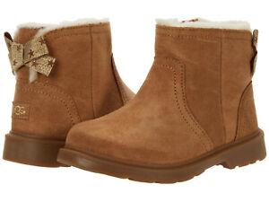 Toddler UGG Australia Lynde 1115831T Chestnut 100% Authentic Brand New