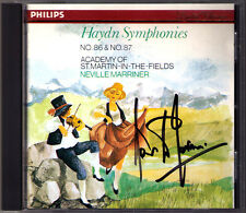 Sir Neville Marriner firmato Haydn SYMPHONY N. 86, 87 Philips CD 1982 sinfonie