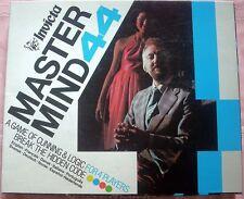 MASTER MIND 44 Board Game, 1977, Invicta, NEAR MINT