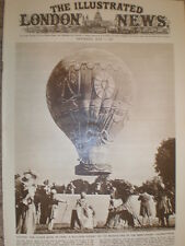 Photo article Montgolfiere replica balloon launched Ranelagh Gardens 1951