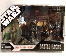 Droid Factory Capture 07' STAR WARS 30th Anniversary Battle Packs Jango Fett MIB