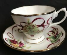 Royal Albert Old Country Roses Christmas Tree Cup And Saucer