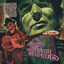 "Brian James - The Guitar That Dripped Blood (NEW 12"" VINYL LP)"