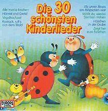 Die 30 Schönsten Kinderlieder von Warburger Märchenkinder | CD | Zustand gut