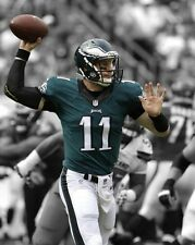 Philadelphia Eagles CARSON WENTZ Glossy 8x10 Photo Spotlight Football Poster