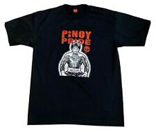 Manny Pacquiao Pinoy Pride T Shirt Extra Large XL Yalex Gold