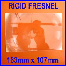 Rigid Acrylic Fresnel Lens Sheet Magnifier Magnifying Glass 163 x 107mm