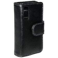 AMZER Elite Leather Book Case Cover for Samsung Behold T919
