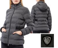 Women's Emporio Armani EA7 Short Jacket Padded Puffer Quilted Winter Warm Design