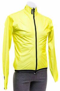 Assos Equipe RS Schlosshund Rain Jacket Men MEDIUM Fluo Yellow Road Bike Cycling