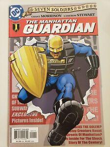 SEVEN SOLDIERS: THE MANHATTAN GUARDIAN #1-4 (2005) DC COMICS FULL SET! MORRISON