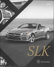 2016 16  Mercedes Benz SLK Class Convertible   Original  brochure