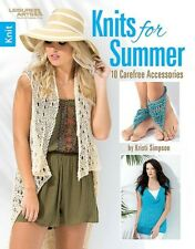 Leisure Arts Knits for Summer Pattern Book