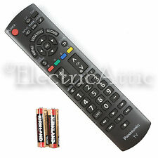 "NEW OEM N2QAYB000485 HDTV REMOTE CONTROL FOR PANASONIC 32"" ~ 85"" TV w Batteries"