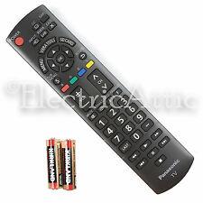 "NEW OEM N2QAYB000485 HDTV REMOTE CONTROL FOR PANASONIC 32"" ~ 85"" TV w Batteries"