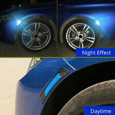 2x Car Door Edge Guard Reflective Self-Adhesive Sticker Decal Safety Warning