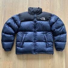The North Face Nuptse 700 Puffer Jacket Navy Blue Small