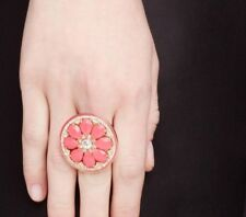 Kate Spade Out of the Office Pink Grapefruit Ring NWT Is It Happy Hour, Yet