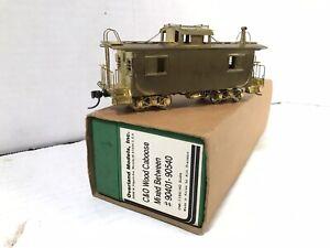 HO Scale Brass Overland Chesapeake & Ohio Wood Caboose #90401-90540 OMI-1160