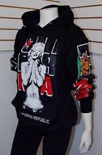 Cute Marilyn Monroe Cali Pullover Sweater Hoodie,Black California Republic Sz S