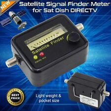 Analog Satellite TV Signal Finder Enhancer Black for Home DTH Satelite Network