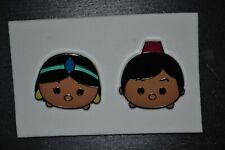 AUTHENTIC Tsum Tsums Mystery Series Aladdin & Jasmine Disney Pins