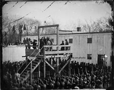 """Execution of Captain Wirz Andersonville 8""""x 10"""" Civil War Photo Picture #34"""