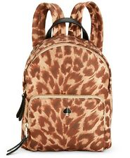 Kate Spade Taylor Leopard Nylon Small Backpack ~NWT~