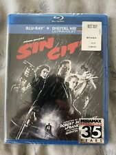 Sin City (Blu-ray Disc, 2009, 2-Disc Set, Theatrical & Recut, Extended, Unrated)