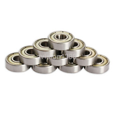 10pcs Small 608ZZ Skate Ball Roller Bearings 8mmX22mmX7mm for 3D Printer UK