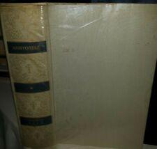 OPERE BIOLOGICHE DI ARISTOTELE classici scienza 1978 RIF. gf