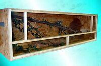 Terrarium 180x60x60 groß Bausatz Holzterrarium OSB Holz Seitenlüftung
