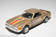 HONG KONG MERCEDES BENZ 500 SLC RALLY MET. CHAMPAGNE NEAR MINT CONDITION