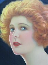 R.N. CROSS Original Signed Vintage Illustration Silent Film MARGUERITE CLARK