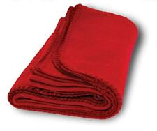Warm and Very Soft Fleece Blanket Red for Dog & Cat (Export Quality)-Large