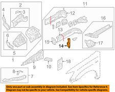 MITSUBISHI OEM 11-18 Outlander Sport Fender-Support Plate Left 5220F313