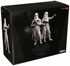Artfx + Kotobukiya 1/10 SCALA Star Wars Snowtrooper 2 Pack Figure Set Nuovo