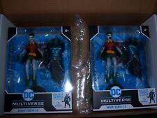 2 Mc Farlane  DC Multiverse Dark Night Metal Robin Crow Earth 22
