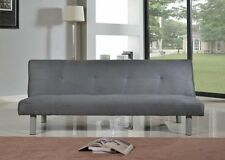 Single Sofa Bed Couch Grey Modern Living Room Modern Home Furniture Stylish Seat