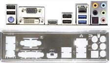 ATX pannello I/O Shield ASROCK b85m-pro4 #567 NUOVO OVP io Backplate BRACKET NEW