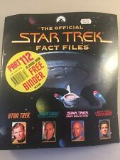 Collectable The Official Star Trek Fact Files No8 - star trek fact file