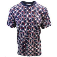 FILA Men's Navy Cube S/S T-Shirt (S06B)