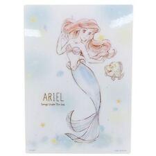 Ariel B5 Pencil Board * Little Mermaid * Plastic Art Sheet - Disney Japan