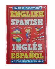 My First 1000 Words English - Spanish Childrens Book 3yr
