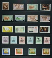 TOKELAU ISLANDS, a collection of 22 stamps for sorting, UM, MM & used condition.