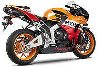 Honda CBR600RR '09-16 YOSHIMURA RS-5 SLIP ON EXHAUST STREET SERIES 1228275